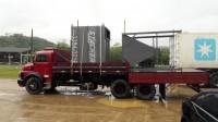 Entrega equipamento Filtro Multiciclone